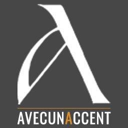 AVECUNACCENT Designer d'intérieur logo