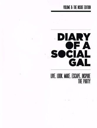 Diary Of A Social Gal vol. 8 Cover
